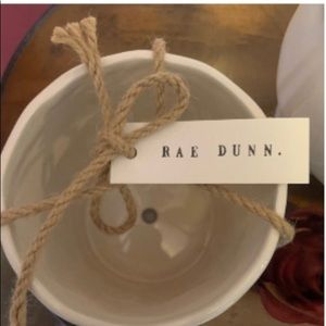 Rae Dunn Other - Rae Dunn Bundle GROW Planter HYDRATE Water Can.